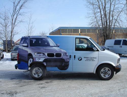 BMW Parts Truck